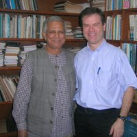 Muhammad Yunus and Alex Counts