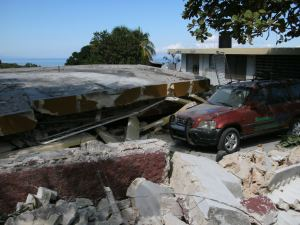 Damage from Haiti's 7.0 magnitude earthquake