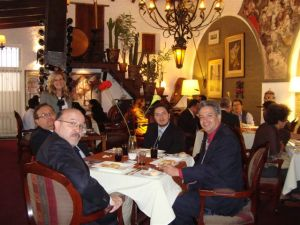 Lunch meeting with the participants in Lima, Peru