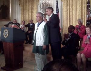 Prof. Yunus Receives the Presidential Medal of Freedom