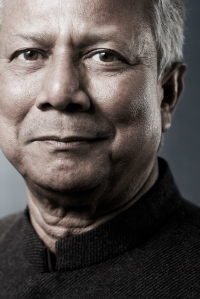 Prof. Muhammad Yunus has devoted his life to fighting poverty and empowering women in his native Bangladesh. The current government has repaid him by unfairly dismissing him from his post, an effort he and Grameen Bank are fighting in the courts. Will you help us defend his reputation?