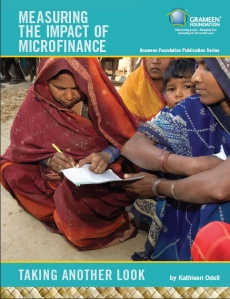 """Measuring the Impact of Microfinance: Taking Another Look"" is the latest report published by Grameen Foundation that examines the studies of the effectiveness of microfinance as a tool to alleviate poverty."