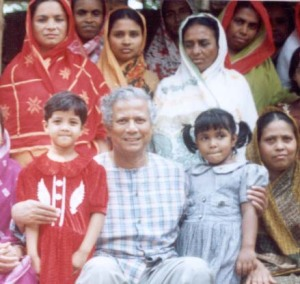 Prof. Yunus has always focused on serving the poor in Bangladesh, and around the world.