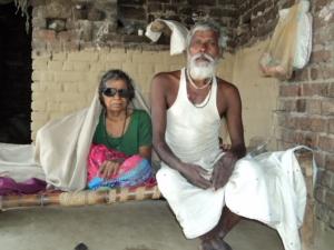 Sugia Devi and her husband