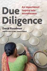 "Cover of David Roodman's ""Due Diligence"""