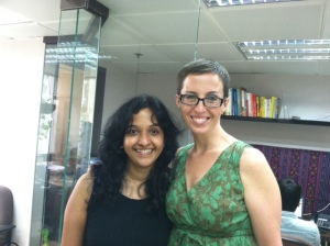 BwB Regional Program Officer for Asia, Sharada Ramanathan, and Director Shannon Maynard are spending a week meeting with volunteers and supporters in Hong Kong.